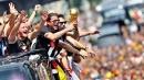 Il ritorno dei campioni del mondo, in 500mila a Berlino