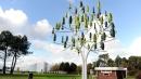 Ideato l'albero eolico che genera energia elettrica anche con un vento flebile