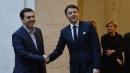 """Renzi incontra Tsipras: """"Il voto in Grecia è un messaggio di speranza contro la crisi"""""""
