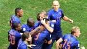Brasile, altra delusione: l'Olanda vince 3-0 ed è terza
