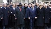 Parigi, 2 milioni di persone in strada contro il terrorismo