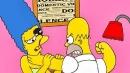 Homer picchia Marge, i cartoon per un messaggio contro la violenza sulle donne