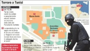 Strage in Tunisia, gli orari dell'attacco