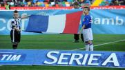 La Serie A canta la 'Marsigliese'