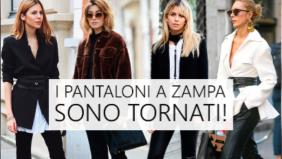 Pantaloni: a zampa sono trendy Il più...