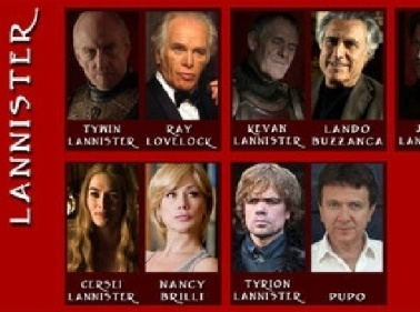 """Game of Thrones"" all'italiana, ecco come sarebbe il cast"