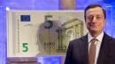 Ecco la nuova banconota da 5 euro