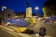 Resta il presidio a Porta Pia, manifestanti verso il ministero delle Infrastrutture
