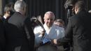 Il San Lorenzo porta la coppa dal Papa