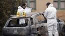 Cosenza, tre corpi carbonizzati in auto <br>Tra le vittime anche un bambino di 3 anni