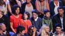 """""""Amici 13"""", anche Agnese Renzi con i figli ad applaudire in studio"""
