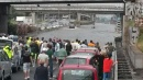 Violento nubifragio, Roma in ginocchio<br> Protezione Civile: allerta anche per lunedì