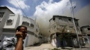Gaza, 540 vittime tra i palestinesi<br> Raid israeliano colpisce un ospedale