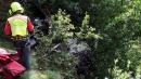 Cade elicottero, due morti ad Aosta<br> A Parma precipita un ultraleggero