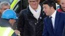 Renzi a Parma, scontri agenti-antagonisti