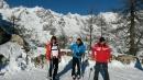 Renzi sulle piste di Courmayeur, per il premier un fine anno tra neve e selfie