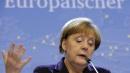 """Merkel: """"Bce non freni riforme in Ue""""<BR>Draghi """"spara"""" un colpo da 1.000 mld"""