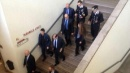 Milano, le immagini dall'interno del tribunale subito dopo la sparatoria