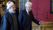 """Rohani incontra Mattarella: """"Terrorismo, no ambiguità"""""""
