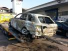 """Audi gialla bruciata, procura: """"Chance di cattura al minimo"""""""