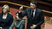 """Banche, Renzi al Senato: """"Riforma attesa da 25 anni"""""""