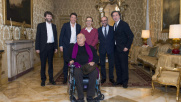 Quattro registi premi Oscar a pranzo con Matteo Renzi