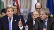 Libia,Gentiloni:governo subito Kerry: più aiuti contro Isis
