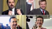 Primarie a Milano, i quattro candidati hanno votato