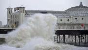 Tempesta Imogen su Gran Bretagna: raffiche record