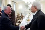 """Mattarella: """"Intesa con gli Usa sui grandi temi internazionali"""""""