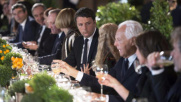 Milano, Renzi a pranzo con i big della moda: Italy is back