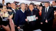 """Berlusconi: """"Bertolaso l'unico che può cambiare Roma"""""""