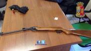 Roma, semina panico in metro con un fucile a aria compressa