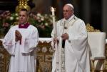 Veglia pasquale, Papa: Chiesa porti speranza al mondo