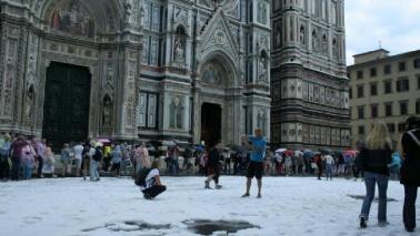 Firenze, crollo in scuola: feriti Disagi in tutta la Toscana