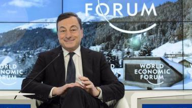 """Inflazione, Draghi: meno ottimismo Profughi, """"opportunità per Europa"""""""