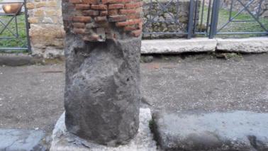 Scavi Pompei, nuovo crollo nell'area archeologica