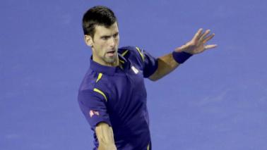 Djokovic infila la sestaMurray annullato in tre set