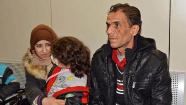 Roma, viaggio della speranza per una famiglia siriana
