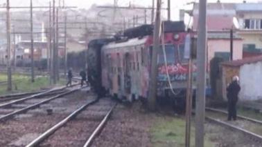 Napoli, deraglia treno della ferrovia Cumana: nessun ferito