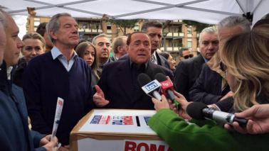"""Berlusconi: """"Bertolaso un fuoriclasse, alleati decidano"""""""
