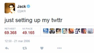 """Twitter festeggia 10 anni con i suoi cinguettii """"storici"""""""