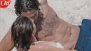 Marco Bocci bacia Claudia Gerini