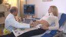 Michelle Hunziker, ecografia in tv - Michelle Hunziker, ecografia in tv