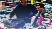 La rapina dei fratelli Kouachi al distributore di benzina