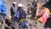 Germanwings, le nuove immagini dei resti dell'aereo precipitato...