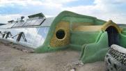 Uruguay, costruita scuola riciclando pneumatici e lattine