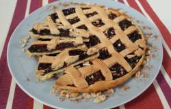 Crostata di marmellata all'uva
