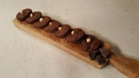 Biscottoni nocciole e cioccolato