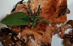 Coniglio alla ligure con olive taggiasche